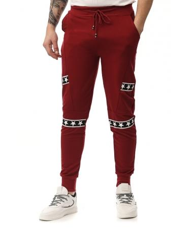 Pantaloni Sport De Barbati Aram Rosii - Trendmall.ro