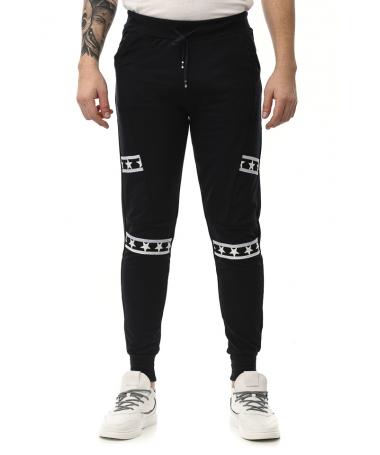 Pantaloni Sport De Barbati Aram Albastru Inchis - Trendmall.ro