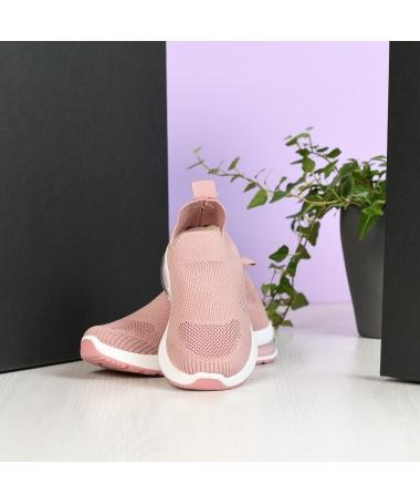 Pantofi Sport De Copii Elastini Roz - Trendmall.ro