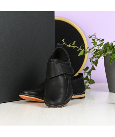 Pantofi Casual De Copii Lucifer Negri - Trendmall.ro