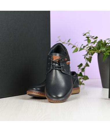 Pantofi Casual Evoli Albastri Inchis - Trendmall.ro