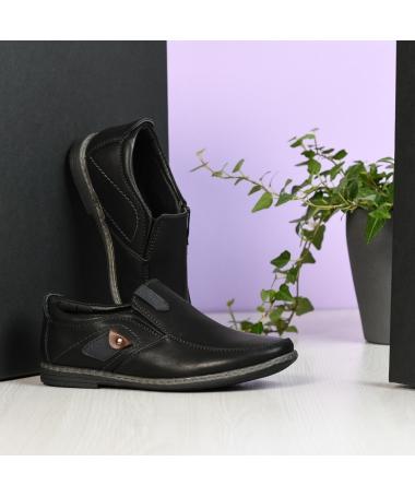Pantofi Casual Spon Negri - Trendmall.ro