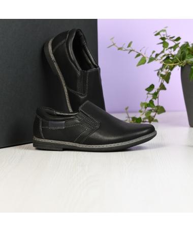 Pantofi Casual De Copii Pimt Negri - Trendmall.ro