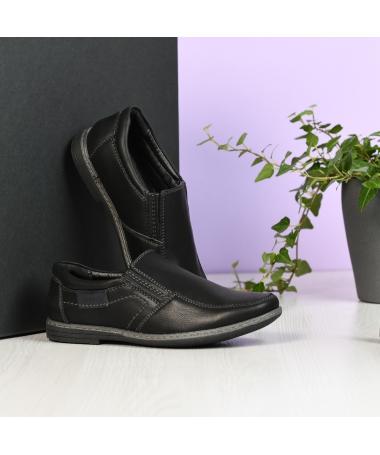 Pantofi Casual De Copii Aret Negri - Trendmall.ro