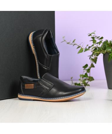 Pantofi Casual De Copii Aret Albastri Inchis - Trendmall.ro