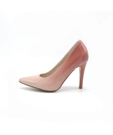 Pantofi Office De Dama Becco Roz - Trendmall.ro