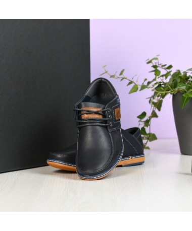 Pantofi Casual Cops Albastri Inchis - Trendmall.ro