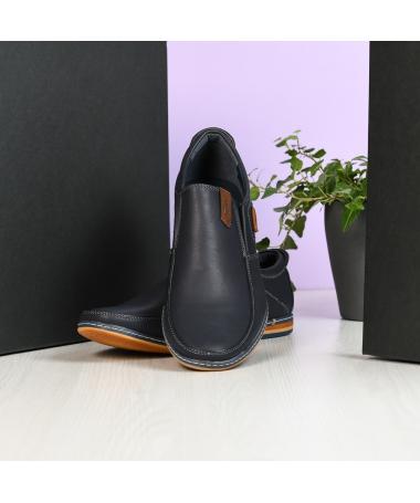 Pantofi Casual De Barbati Carlos Albastri Inchis - Trendmall.ro