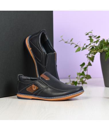 Pantofi Casual Spon Albastri Inchis - Trendmall.ro