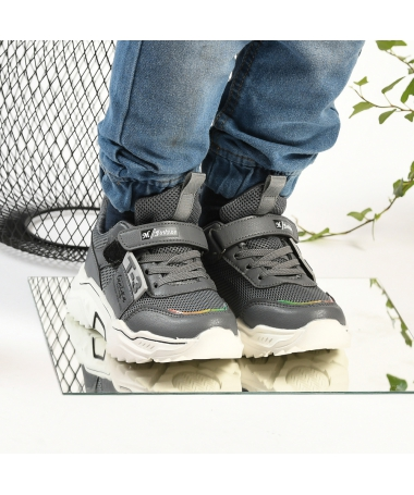Pantofi Sport De Copii Fashion Gri - Trendmall.ro