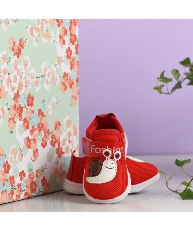 Pantofi Sport De Copii Melc Rosu - Trendmall.ro
