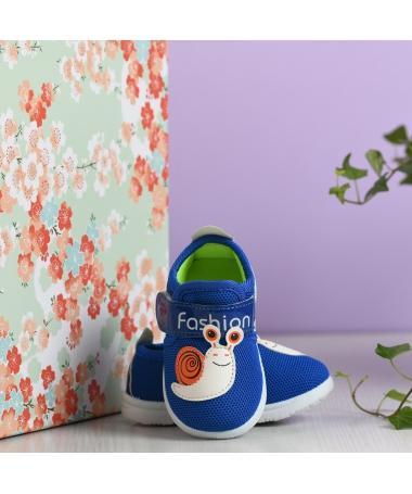 Pantofi Sport De Copii Melc Albastru Deschis - Trendmall.ro