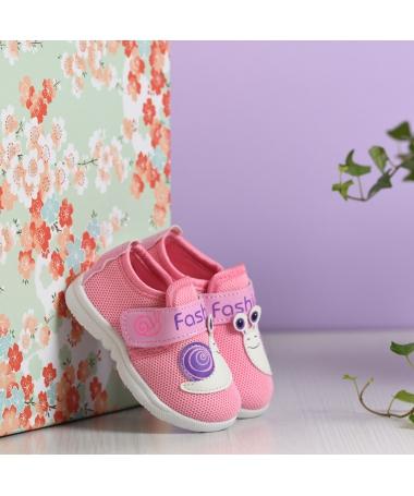 Pantofi Sport De Copii Melc Roz - Trendmall.ro