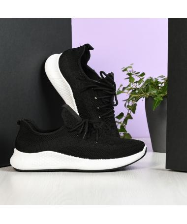 Pantofi Sport De Barbati Basic Negru - Trendmall.ro