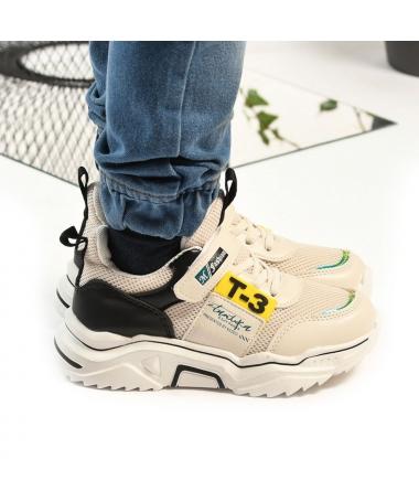 Pantofi Sport De Copii Fashion Bej - Trendmall.ro