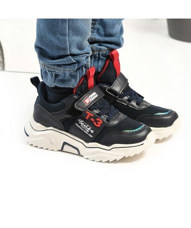 Pantofi Sport De Copii Fashion Albastru - Trendmall.ro