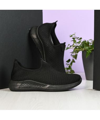 Pantofi Sport De Barbati Sock Negru - Trendmall.ro
