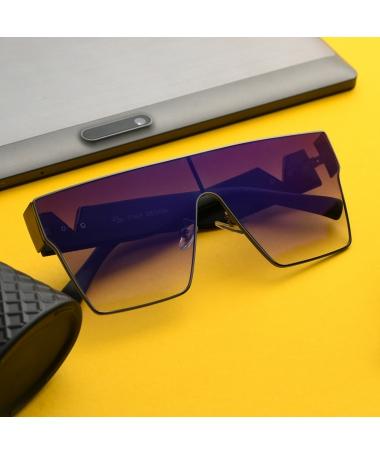 Ochelari De Soare Unisex Oversized Uniq Mov - Trendmall.ro
