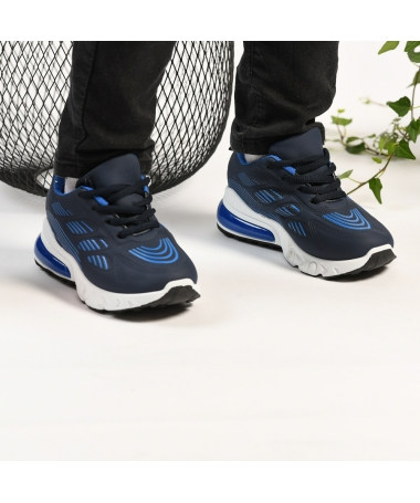 Pantofi Sport De Copii Spider Albastri - Trendmall.ro
