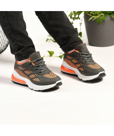 Pantofi Sport De Copii Spider Portocalii - Trendmall.ro