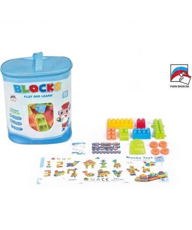 Cuburi De Construit Pentru Copii Blocks Multicolore - Trendmall.ro