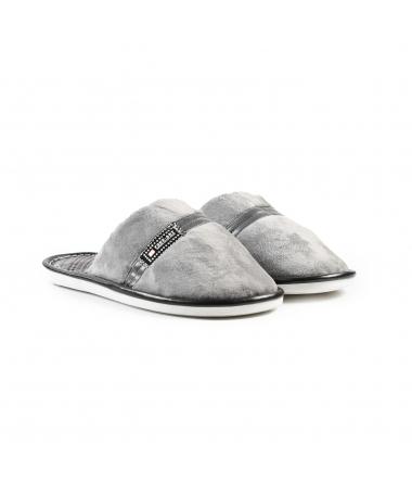Papuci De Casa De Barbati Fone Gri - Trendmall.ro
