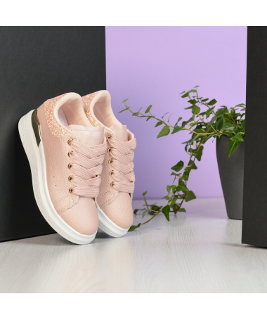 Pantofi Sport De Copii Bain Roz - Trendmall.ro