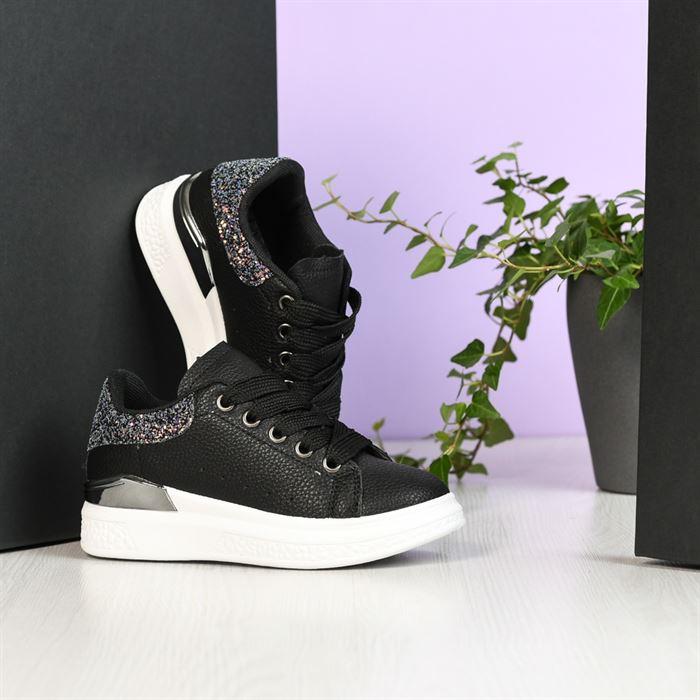 Pantofi Sport De Copii Bain Negri - Trendmall.ro