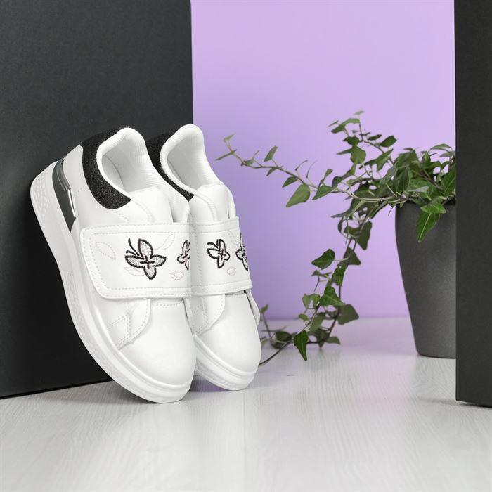 Pantofi Sport De Copii Flutures Albi - Trendmall.ro