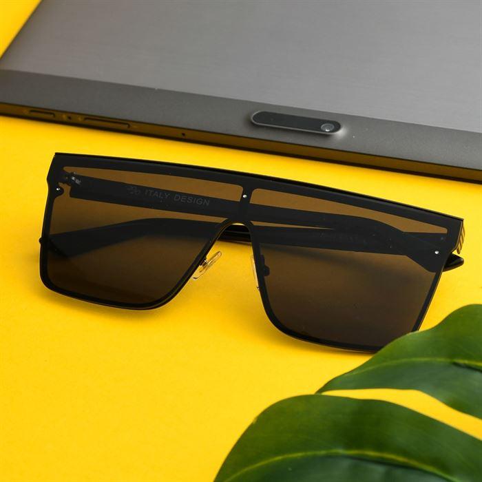 Ochelari De Soare De Barbati Square Lobby Full Black - Trendmall.ro