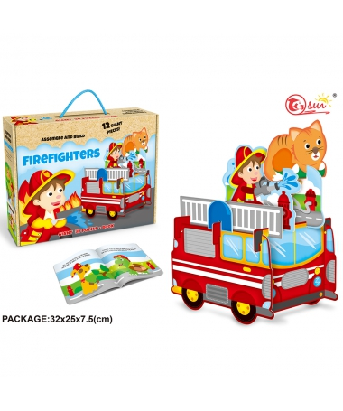Puzzle FIREFIGHTERS - Trendmall.ro