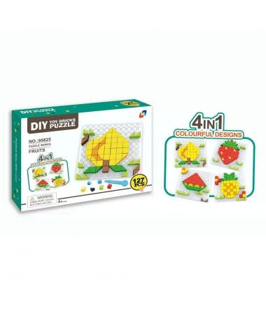 Joc Cuburi Tip Puzzle Fruits - Trendmall.ro