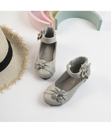 Pantofi Casual De Copii Cherry Gri - Trendmall.ro