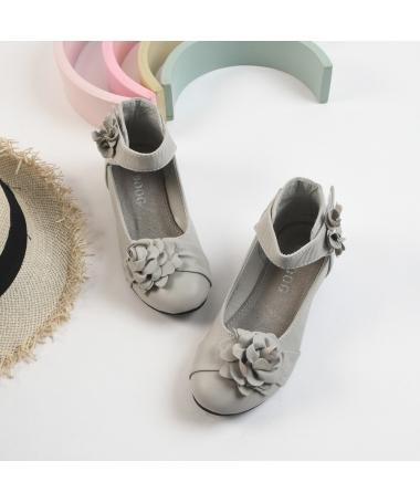 Pantofi Casual De Copii Jessy Gri - Trendmall.ro