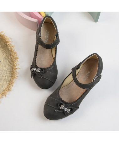 Pantofi Casual De Copii Lissy Gri - Trendmall.ro