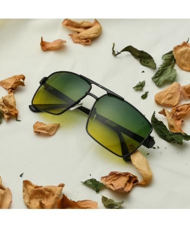 Ochelari De Soare De Barbati Artin Verde - Trendmall.ro