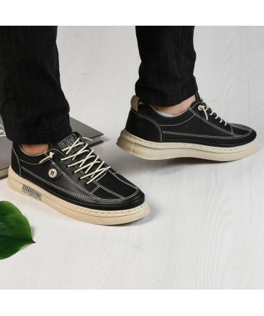 Pantofi Sport De Barbati Lords Negri - Trendmall.ro