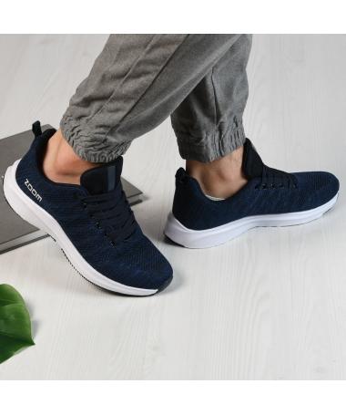 Pantofi Sport De Barbati Zoom Albastri - Trendmall.ro