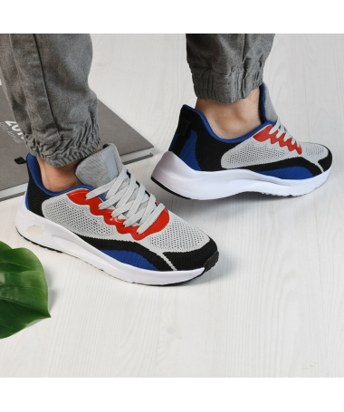 Pantofi Sport De Barbati Zanotti Gri - Trendmall.ro