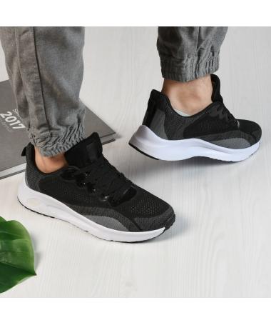 Pantofi Sport De Barbati Zanotti Negru Cu Alb - Trendmall.ro