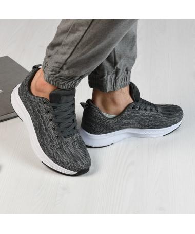 Pantofi Sport De Barbati Marco Gri - Trendmall.ro