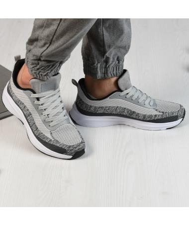 Pantofi Sport De Barbati Tomi Gri - Trendmall.ro