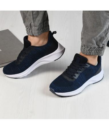 Pantofi Sport De Barbati Ombre Albastri - Trendmall.ro