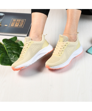 Pantofi Sport De Dama Giuli Bej - Trendmall.ro