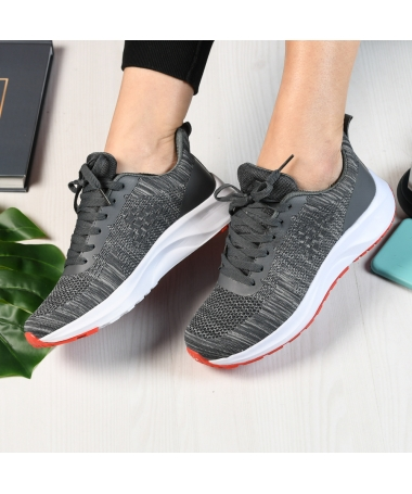Pantofi Sport De Dama Giuli Gri - Trendmall.ro