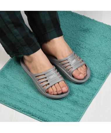Papuci De Barbati Croco Gri - Trendmall.ro