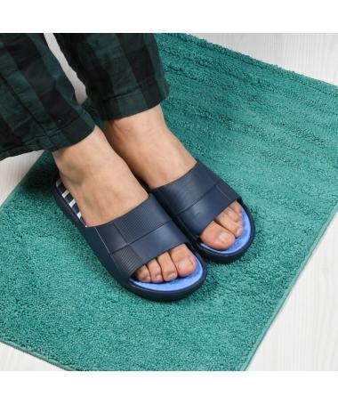 Papuci De Barbati Joom Albastri Inchis - Trendmall.ro