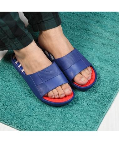 Papuci De Barbati Joom Albastri - Trendmall.ro