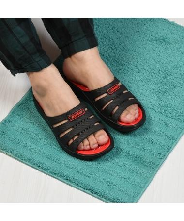 Papuci De Barbati Bolt Rosii - Trendmall.ro