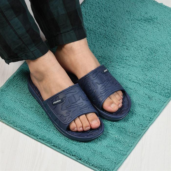 Papuci De Barbati Leon Albastri Inchis - Trendmall.ro